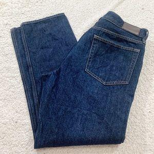 J crew men's Sutton dark wash jeans